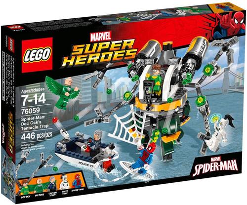 LEGO Marvel Super Heroes Spider-Man Doc Ock's Tentacle Trap Set #76059