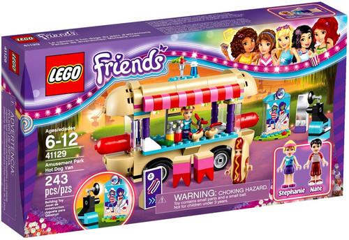 LEGO Friends Amusement Park Hot Dog Van Set #41129