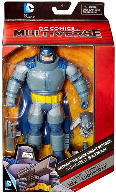 DC Batman: Dark Knight Returns Multiverse New 52 Doomsday Series Armored Batman Action Figure