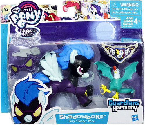 My Little Pony Guardians of Harmony Shadowbolts & Cockatrice Figure