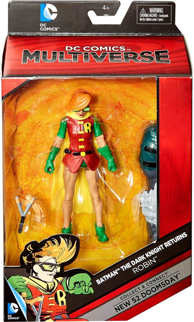 DC Batman: Dark Knight Returns Multiverse New 52 Doomsday Series Robin Action Figure