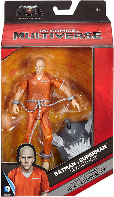 DC Batman Vs. Superman Multiverse New 52 Doomsday Series Lex Luthor Action Figure