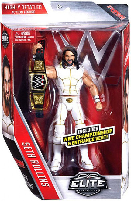 WWE Wrestling Elite Collection Series 45 Seth Rollins Action Figure [WWE Championship & Entrance Vest]