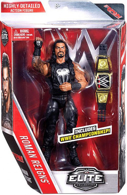 WWE Wrestling Elite Collection Series 45 Roman Reigns Action Figure [WWE Championship]