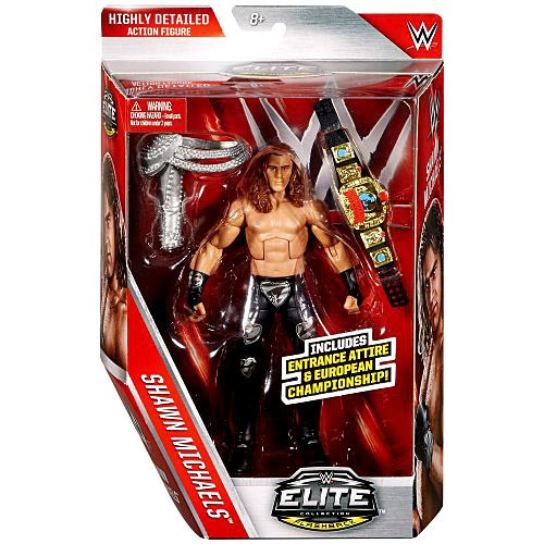 WWE Wrestling Elite Collection Lost Legends Shawn Michaels Action Figure