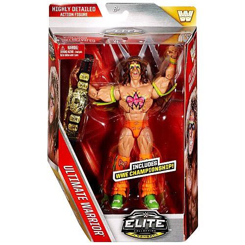 WWE Wrestling Elite Collection Lost Legends Ultimate Warrior Action Figure