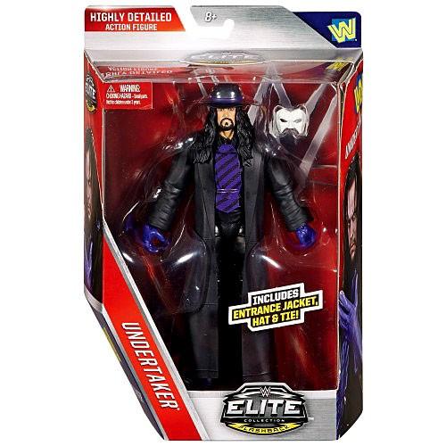 WWE Wrestling Elite Collection Lost Legends Undertaker Action Figure