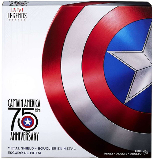 Marvel Legends 75th Anniversary Captain America Metal Shield Prop Replica