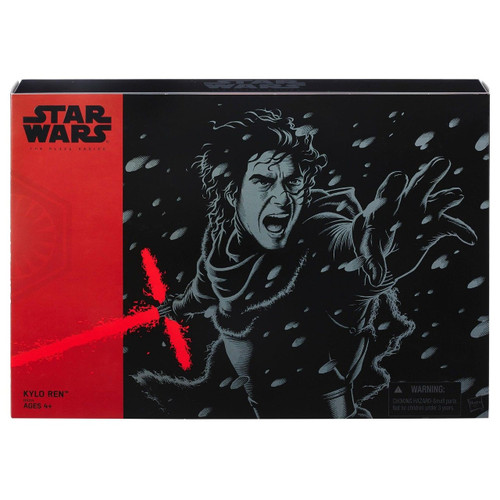 Star Wars The Force Awakens Black Series UNMASKED Kylo Ren Exclusive Action Figure