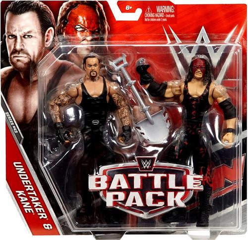 WWE Wrestling Battle Pack Series 43 Undertaker & Kane Action Figure 2-Pack