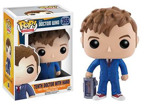 Funko Doctor Who POP! TV Tenth Doctor With Hand Vinyl Figure #355