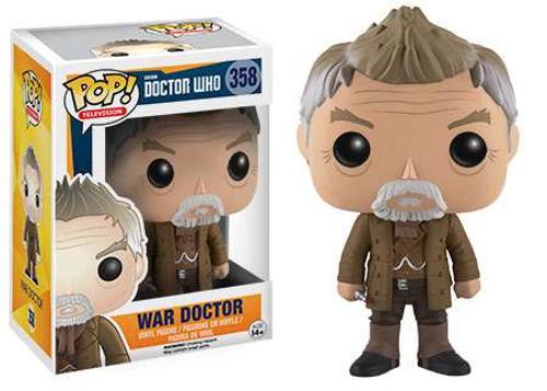 Funko Doctor Who POP! TV War Doctor Vinyl Figure #358