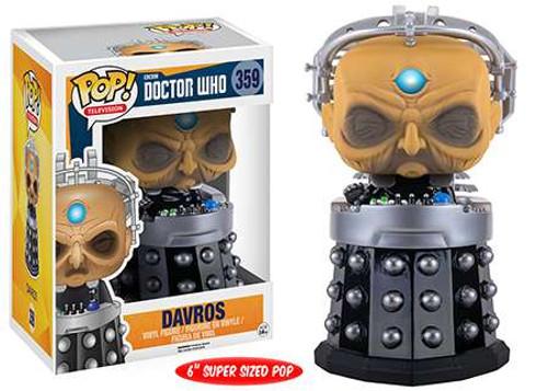 Funko Doctor Who POP! TV Davros 6-Inch Vinyl Figure #359 [Super-Sized]
