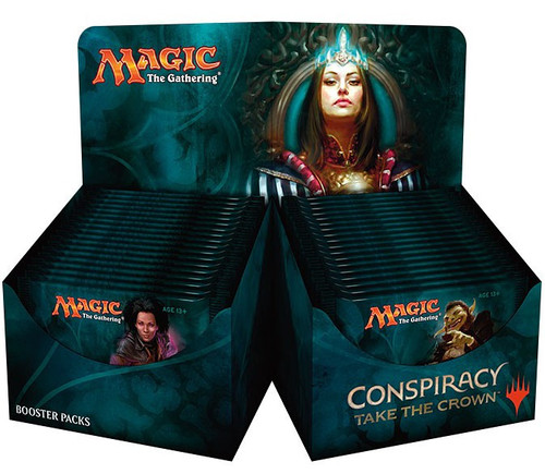 MtG Trading Card Game Conspiracy 2: Take the Crown Booster Box [36 Packs]
