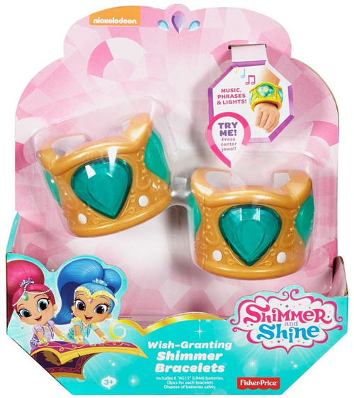 Fisher Price Shimmer & Shine Wish-Granting Shimmer Bracelets