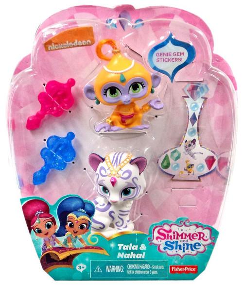 Fisher Price Shimmer & Shine Tala & Nahal Mini Doll 2-Pack