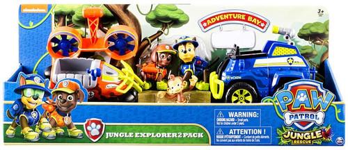 Paw Patrol Jungle Rescue Jungle Explorer Exclusive Vehicle & Figure Set
