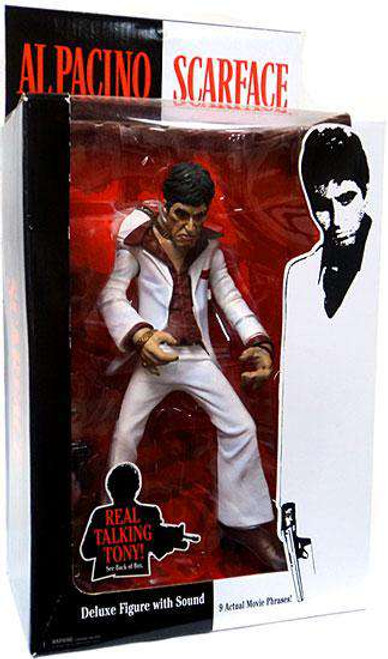 Scarface Action Figures [Damaged Package]