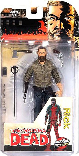 McFarlane Toys The Walking Dead Comic Rick Grimes (2016) Exclusive Action Figure [Full Color]