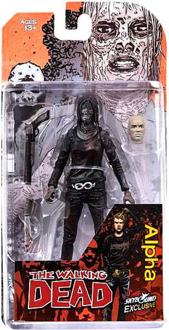 McFarlane Toys The Walking Dead Comic Alpha Exclusive Action Figure [Bloody Black & White]