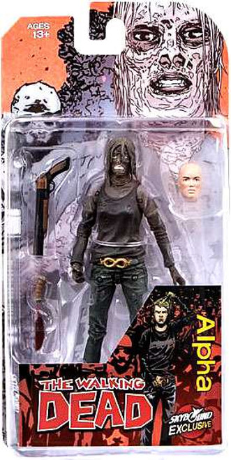 McFarlane Toys The Walking Dead Comic Alpha Exclusive Action Figure [Full Color]