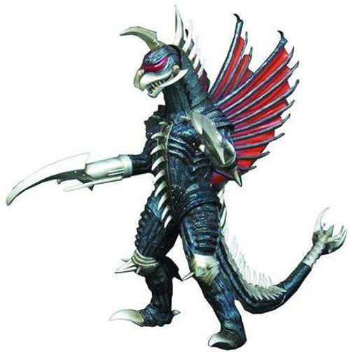 Godzilla 2004 Final Wars Gigan Exclusive 12-Inch Vinyl Figure [Blade Arms]