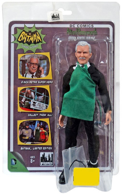 1966 TV Series 1966 Batman Series Alfred Pennyworth Exclusive Action Figure