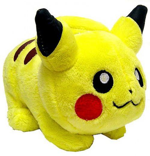 Pokemon Diamond & Pearl Pikachu 5-Inch Plush [Laying Down on All Fours]