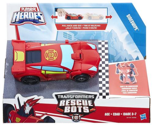 Transformers Playskool Heroes Rescue Bots Sideswipe Action Figure