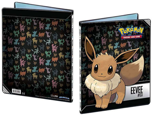 Ultra Pro Pokemon Trading Card Game Card Supplies Eevee 9-Pocket Binder