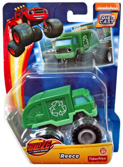 Fisher Price Blaze & the Monster Machines Reece Diecast Car