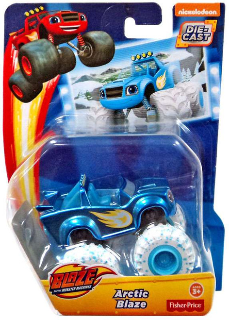 Fisher Price Blaze & the Monster Machines Arctic Blaze Diecast Car