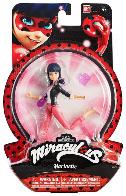 Zag Heroez Miraculous: Tales of Ladybug & Cat Noir Marinette Action Figure