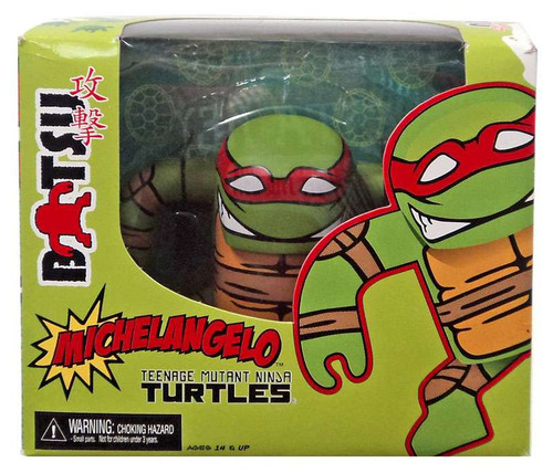 NECA Teenage Mutant Ninja Turtles Mirage Comic Batsu Michelangelo 5-Inch Vinyl Figure