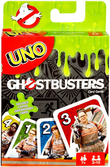 Ghostbusters UNO Card Game
