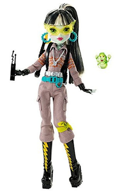 Monster High Ghostbusters Frankie Stein Exclusive Doll