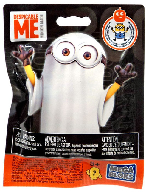 Mega Bloks Despicable Me Minion Made Halloween Mystery Pack [1 RANDOM Figure]
