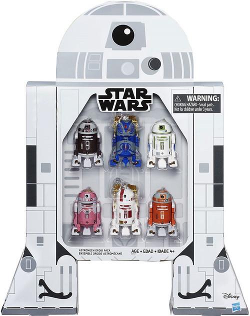 Star Wars Black Series Astromech Droids Exclusive Action Figure 6-Pack [Jabba's Bartender, R7-F5, KT-QT, R7-D4, RC-C2 & R2-A5]