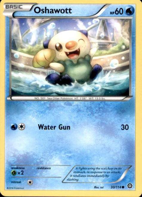 Pokemon X & Y Steam Siege Common Oshawott #30