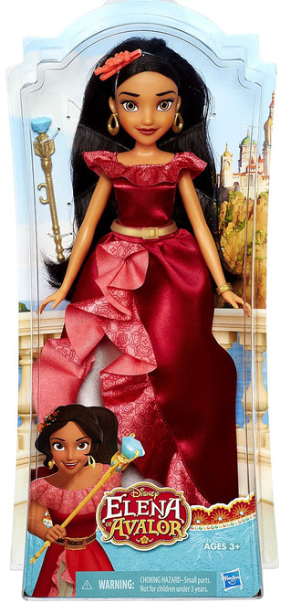 Elena of Avalor Elena Crown Princess Doll