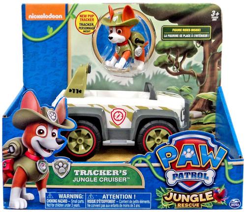Paw Patrol Jungle Rescue Tracker's Jungle Cruiser Vehicle