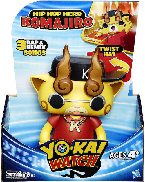 Yo-Kai Watch Spirit Projection Hip Hop Hero Komajiro Electronic Figure