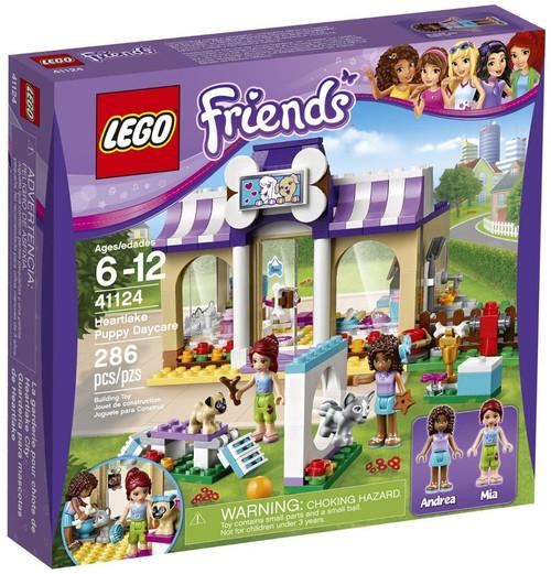 LEGO Friends Heartlake Puppy Daycare Set #41124