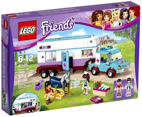 LEGO Friends Horse Vet Trailer Set #41125