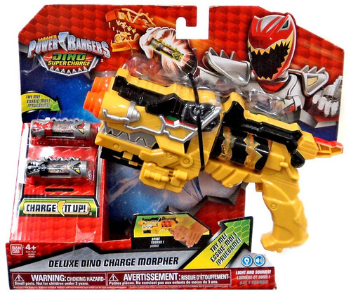 Power Rangers Dino Super Charge Deluxe Dino Charge Morpher Roleplay Toy [2016 Package]