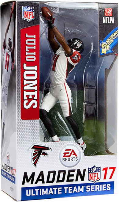 McFarlane Toys NFL Atlanta Falcons EA Sports Madden 17 Ultimate Team Series 2 Julio Jones Action Figure