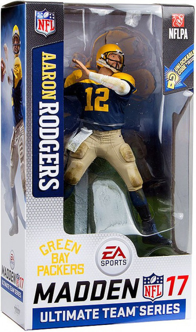 McFarlane Toys NFL Green Bay Packers EA Sports Madden 17 Ultimate Team Series 2 Aaron Rodgers Action Figure