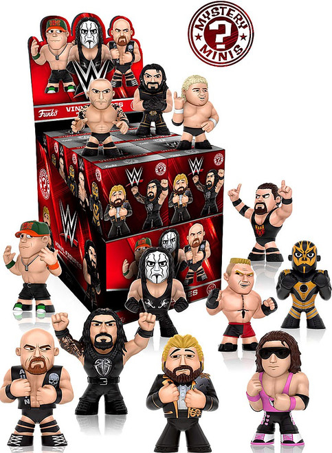 Funko WWE Wrestling Mystery Minis WWE Series 2 Mystery Box [12 Packs]