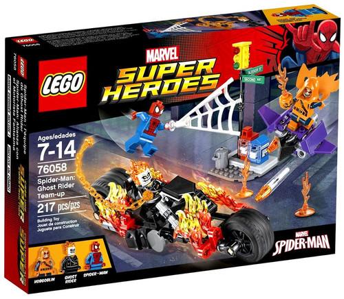 LEGO Marvel Super Heroes Spider-Man: Ghost Rider Team-up Set #76058