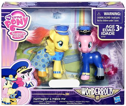 My Little Pony Friendship is Magic Wonderbolts Fluttershy & Pinkie Pie Exclusive 3-Inch Figure 2-Pack